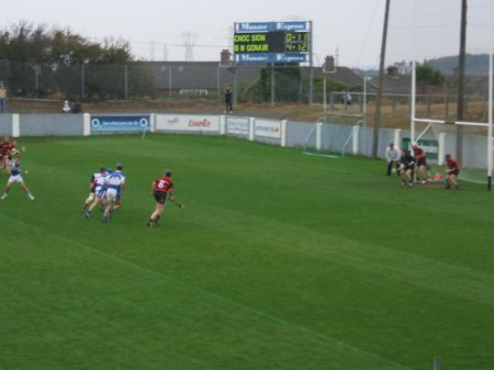 Ken McGrath free, Ballygunner v Mount Sion, October 2007